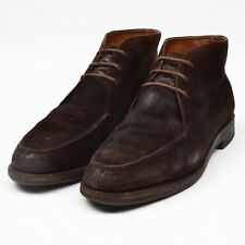 Baldessarini Hugo Boss Stiefel Boots Crockett Jones Gr 8 E Wildleder Suede Brown