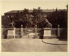 Photo Albuminé Napoli Naples Italie Vers 1870/80 # 7