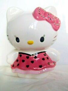 Moneybox / Piggy Bank In Ceramic China - Hello Kitty (E3)