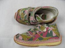 NATURINO schöne Klettschuhe grün rosa Camouflage Gr. 22 TOP ST818