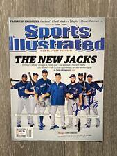 JOSE BAUTISTA signed / autographed Sports Illustrated magazine ~ PSA/DNA COA