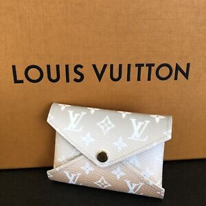 Louis Vuitton Monogram Kirigami By The Pool Small Pochette Wallet Mist Gray