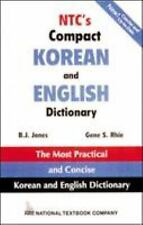NTC's Compact Korean and English Dictionary FINE