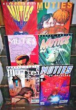 Full Set MARVEL COMICS Muties #1 2 3 4 5 6 School Shooting CHANGELING 2002 NM