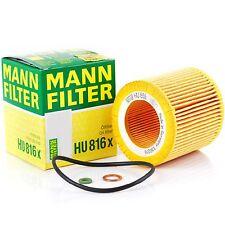Engine Oil Filter BMW OE# 11 42 7 541 827 / 11 42 7 566 327  MANN HU 816 X