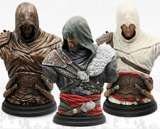 Legacy Collection: Altaïr Ibn-La'Ahad Ezio Mentor - Figurine Bust Statue Bundle