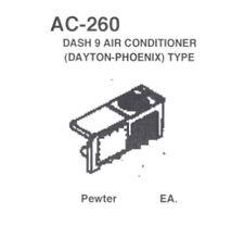 Details West AC-260 – Dash 9 Air Conditioner (Dayton-Phoenix) Type HO Scale NIB