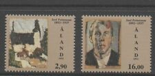 Aland 1992 Birth Centenary of Joel Pettersson SG60-61 unmounted mint set stamps