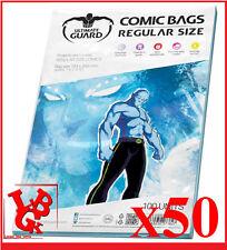 Ultimate Guard Comic Sacs (regular Transparent) Ugd020018 Jouet