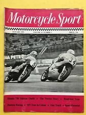MOTORCYCLE SPORT - January 1973 - Honda 750 Sidecar Outfit - Norton - Magazine