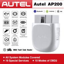 Autel AP200 Bluetooth Wireless OBD2 II Car Fault Diagnostic Code Readers Scanner