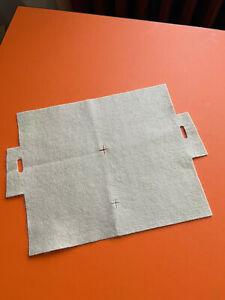 Authentic Hermes Kelly 28 cm Handbag Protective Tan Felt Cover