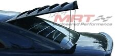 REAR WINDOW LOUVERS Aluminum W/ Prop Rod Kit 12A044 For: FORD MUSTANG 2005-2014