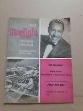 1964 Starlight Theatre Souvenir Program Kansas City Porgy & Bess