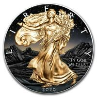 2020 American Eagle Liberty Colorised Rocks 1oz .999 Pure Silver Coin