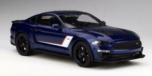 2019 FORD MUSTANG JACK ROUSH STAGE 3 KONA BLUE 1:18 GT SPIRIT CAR ACME US020 GMP