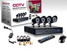 KIT VIDEOSORVEGLIANZA DVR 4 CANALI + TELECAMERE + CAVI