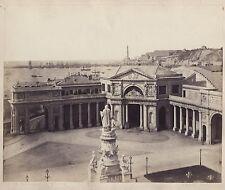 Genova Gênes Photo Sommer Napoli Italie Italia Vintage albumine ca 1870