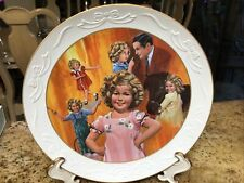 Vintage Shirley Temple Classics� Stand Up� Plate 10 1/4��- #5857 Euc-1983-Bisque