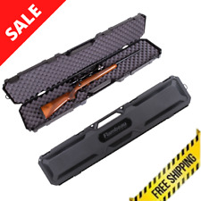 Firearm Safety Case 50.5 Inch Rifle Storage Convoluted Foam With Carrying Handle