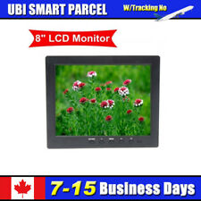 8 Inch Digital Display Monitor 1204*768 VGA BNC Input Video Audio DC12V InputHOT