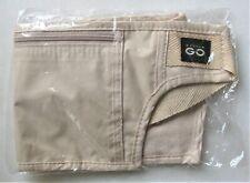 NEW Travel Money Belt Hidden Waist Wallet Security Pouch Bag Secure Pocket Beige