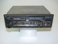 Autoradio Pioneer KP 2020 DK mit Cassette . Alter Anschluss Drehscala (938)