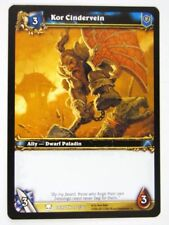 WoW: World of Warcraft Cards: KOR CINDERVEIN 192/361 - played