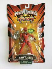Power Rangers Jungle Fury Sound Fury TIGER RANGER Bandai 2007 New