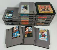 Nintendo NES Lot Of 24 Games (Cartridges Only) All Work, All Tested