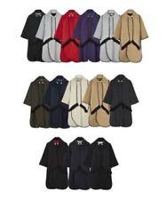 Cappotti e giacche da donna poncho con bottone