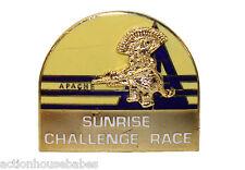 Ski Pin Badge Skiing - APACHE Peak SUNRISE Park CHALLENGE RACE Resort Arizona AZ
