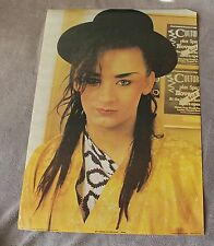Boy George Culture Club 1983 Close Up England Anabas Music PROMO Poster AA096 VG