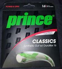 Prince Classics Synthetic Gut w/ Duraflex 16 Gauge 1.38mm Tennis String 40 ft