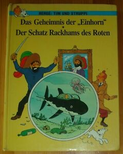 Tintin / Secret of the Unicorn / Red Rackhams Treasure / Germany 1982