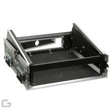 """19"""" Combo Flightcase 2U 10U Amp CD Player Mixer Hard DJ Carry Rack Case"""
