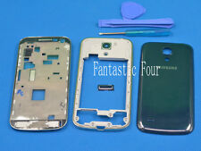 For SAMSUNG Galaxy S4 mini i9190 i9195 Full rear side chassis Housing cover Blue