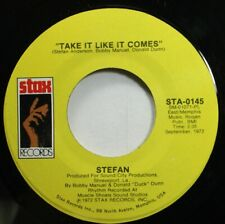 Soul Nm! 45 Stefan - Take It Like It Comes / Holy Cow On Stax Records