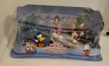 Disney Store Mickey's Christmas Carol Figure Play Set New in box