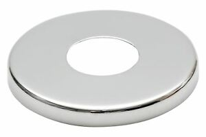 21mm/26mm Collar Chrome Plated Steel Valve Tall Hole Cover Tap Rose 8mm Height