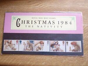 GB Presentation Pack 157 Christmas 1984 The Nativity