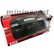 MOTORMAX 79350 2018 DODGE CHALLENGER SRT HELLCAT WIDEBODY 1/24 DIECAST BLACK