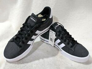 ADIDAS Men's Daily 3.0 Fade Black/White Casual Sneakers - Size 9.5 NWB FW7033