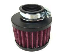 35mm Sport Luftfilter Schwarz Powerfilter f. Tuning Vergaser für 50ccm Moped