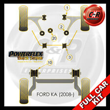 Ford KA (08-) Powerflex Black Complete Bush Kit