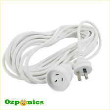 5M FLAT EARTH 240V EXTENSION LEAD HYDROPONICS MAINS POWER CORD CABLE