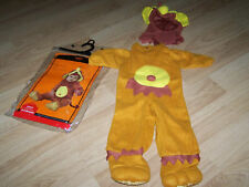 Infant Baby Size 0-6 Months Monkey Halloween Costume New