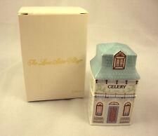 Lenox Spice Village Celery Spice Jar 1989 Vintage Victorian NIB Free Shipping