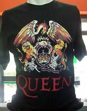 Tshirt queen,rock band,classic queen logo,freddy mercury music