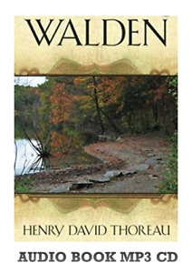 WALDEN OR LIFE IN THE WOODS AUDIO BOOK HENRY DAVID THOREAU MP3 CD UNABRIDGED